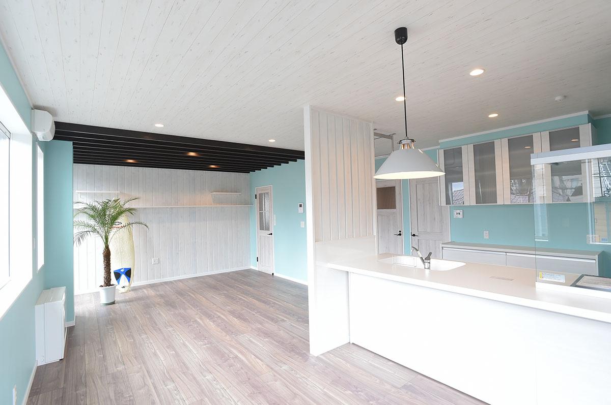 十日町市で新築なら水落住建の西海岸風住宅