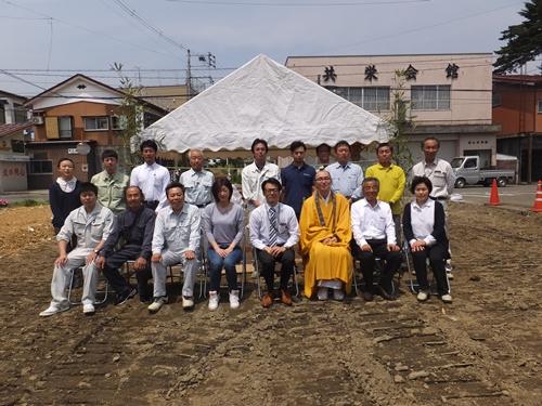 池田さん地鎮祭