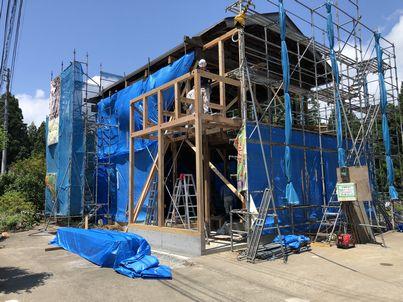 十日町市で新築なら水落住建の増築工事