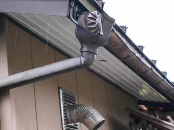 十日町市で新築なら水落住建の集水器修理