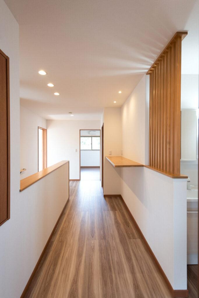 十日町市で新築なら水落住建の廊下スペース