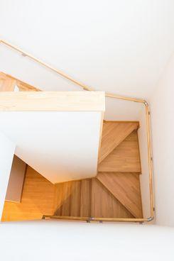 十日町市で新築なら水落住建の階段の手すり