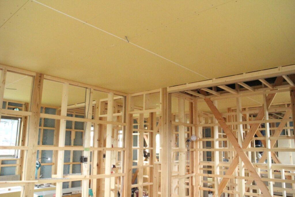 十日町市で新築なら水落住建の天井
